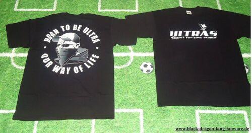 """Fan Ultra Ultras T-Shirt /""""BORN TO BE ULTRA/"""" nur noch in M und XXL neu"""