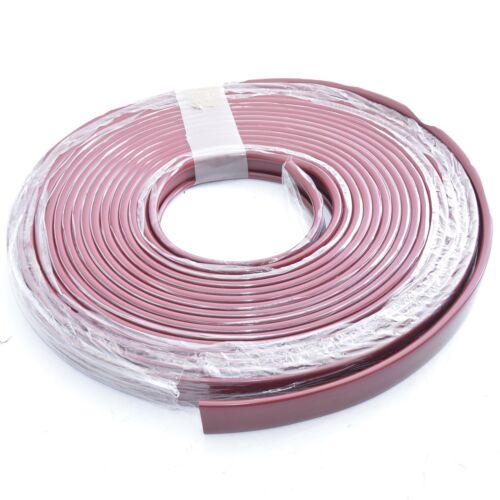 1m PVC Handlauf Kunststoffhandlauf Treppenhandlauf Gummi 40x8mm weinrot