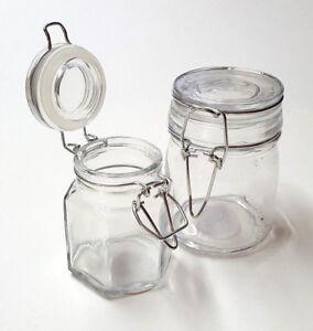 deko glas einmachglas mit b gelverschluss vorratsglas versch sorten und gr en ebay. Black Bedroom Furniture Sets. Home Design Ideas