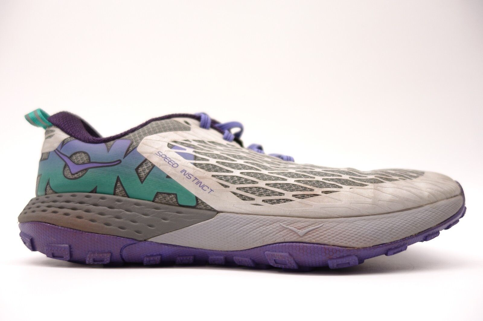 Hoka One One Womens Speed Instinct Lightweight Athletic Running Shoes Size 8