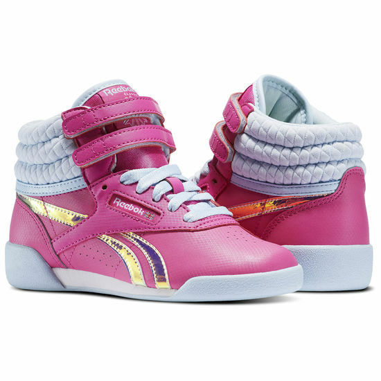 9e1baad9e Reebok Bs5186 Freestyle Hi Mn's (m) Winter Charged Pink Leather Hi-top Shoes  3 for sale online | eBay