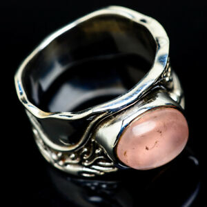 Rose-Quartz-925-Sterling-Silver-Ring-Size-8-Ana-Co-Jewelry-R15960F
