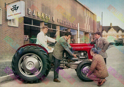 Massey Ferguson 35 Tractor Now with Diff Lock Poster A3