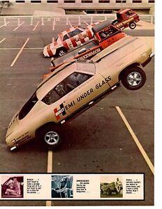 1968-WHEELIE-CARS-POOLE-SHREWSBERRY-MAVRICK-RIGGLE-ORIG-5-PAGE-ARTICLE