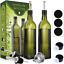 Glass Olive Oil Dispenser Bottle Set Vinegar Cruet Bottle with Pourer 2 Pack