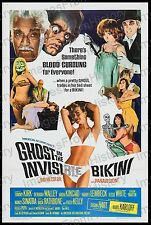 20x30 Poster Boris Karloff Ghost in the Invisibe Bikini 1966 #BK47