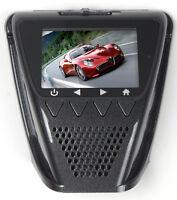 Hd 1080p Police Dash Camera G-sensor Motion Record Window Mount Lcd Car Cam 16gb
