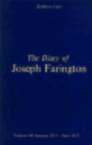 Diary of Joseph Farington, Volumes XI and XII, Hardcover by Cave, Kathryn (ED...
