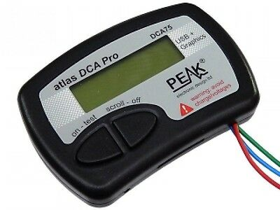 F/S Peak DCA75 Atlas Advanced Semiconductor Analyser with Curve Tracing