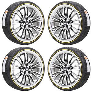 20 Quot Cadillac Xts Ct6 Pvd Chrome Wheels Rims Vogue Tires Factory Oem Set 4765 Ebay