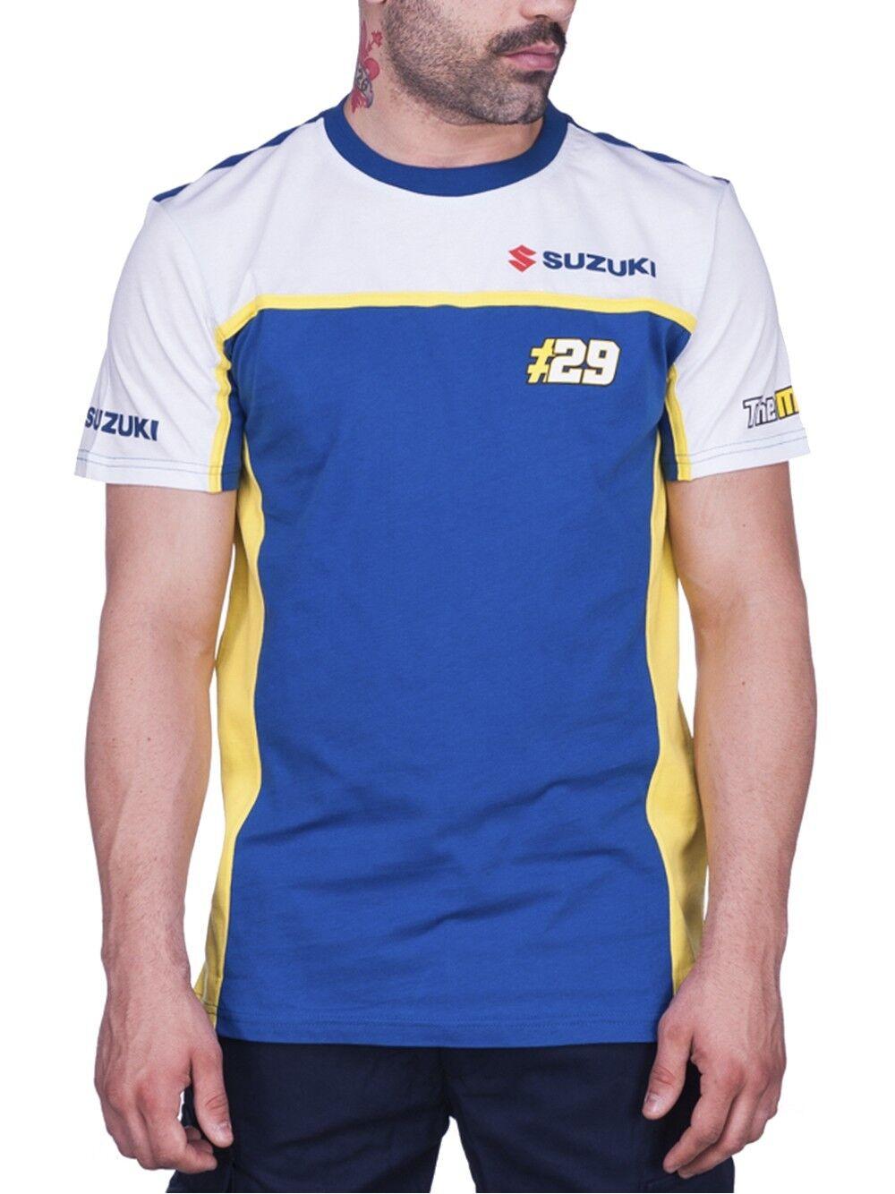 New Official Andrea Ianonne 29 Dual Suzuki T shirt - 17 39009