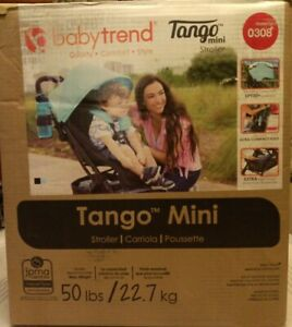 Baby-Trend-Tango-Mini-Stroller-Purest-Blue-New-In-Box-GallyHo