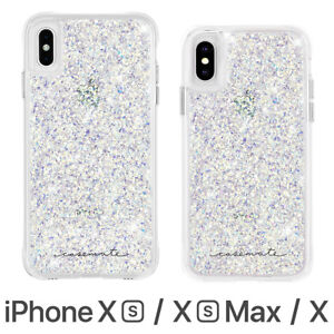 reputable site 9a8f1 ba8da Details about Case-Mate Twinkle Case Cover for Apple iPhone XS Max / XS / X
