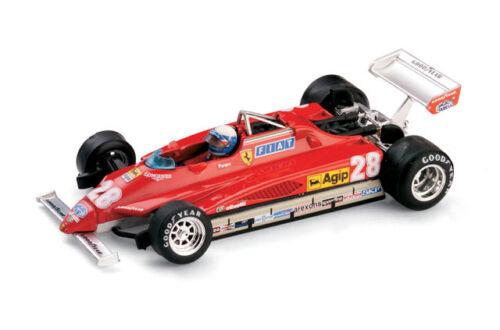 Pilota #28 1:43 2005 BRUMM Ferrari 126C2 GP San Marino 1982