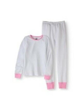 Fruit of the Loom Girls Waffle Thermal Underwear Set