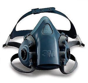 3M 7502 Half Face Respirator Dust Mask