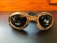 Pugs Eyegear Action Sport Goggles Polycarbonate Lenses UV400 GUNMETAL