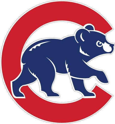Chicago Cubs vinyl sticker for skateboard luggage laptop tumblers car b