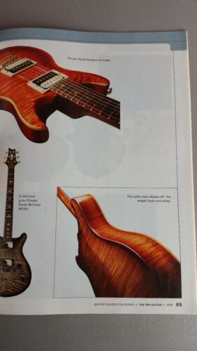 PRS Paul Reed Smith Guitar Player Magazine Book 2005 Custom Private WORLDWIDE