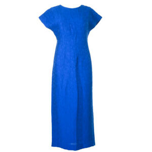 DIANE-VON-FURSTENBERG-DVF-Dress-Bright-Blue-Tailored-Midi-RRP-347-BG