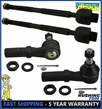 02-05 Dodge Ram 1500 4 Pcs Kit Front Inner & Outer Tie Rod End Left & Right