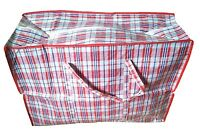 New Good Quality Woven PVC Plastic Laundry  Shopping  Storage Bags with Zip