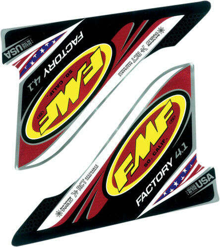 FMF Racing Factory 4.1 USA 2-Part Wrap Replacement Exhaust Decal 012636 27-9122