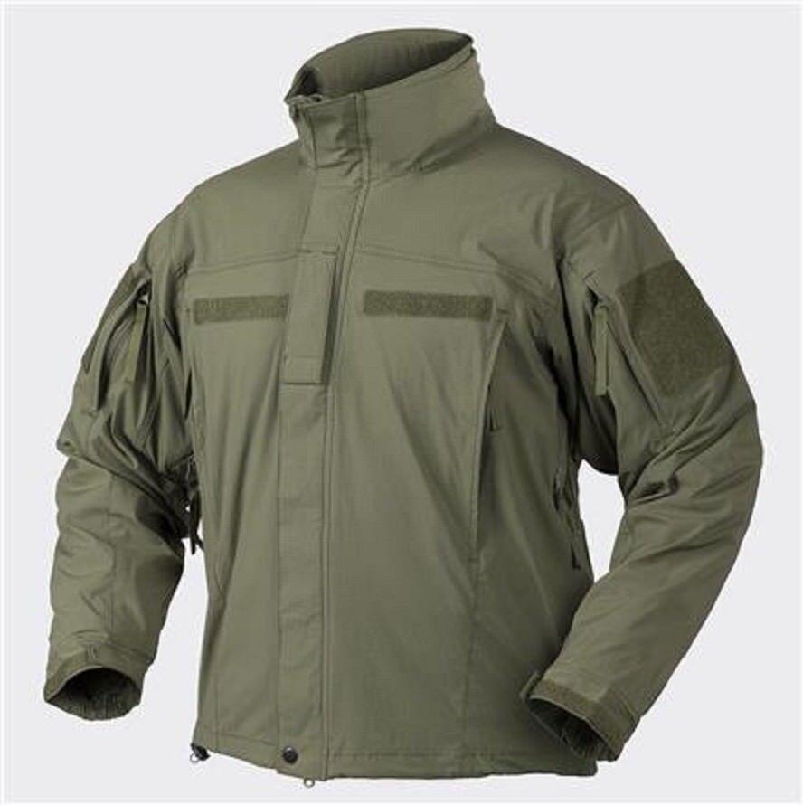 HELIKON TEX SoftShell Jacke APCU Level V Outdoor Combat Coat oliv S   Small