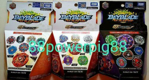 Takara Tomy Beyblade Burst GT B-140 B-146 B-151 Random Booster 3 Pks US Seller