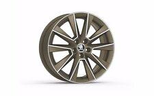 """Original SKODA aloy wheel SAVIO 7.0J x 17"""" 5JA071497D HZ9"""