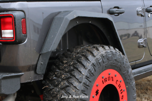 Iron Cross Gp Rf204 Fender Flares For 2020 Jeep Gladiator New Ebay
