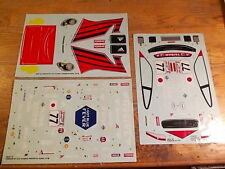 39247-1B Porsche 911 GT3 Decal Set - Kyosho Pure Ten TF-2 TF-3 Mantis GP-10
