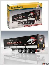 CARGO TRAILER Super Decals Sheet For 2 Version Italeri 3885 1/24 Model Kit New