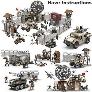 Call-of-Duty-Military-Radar-Base-Soldiers-Fit-WW2-Lego-MiniFigures-Mega-Construx