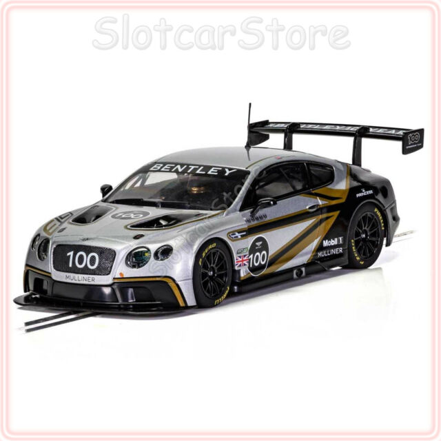 Scalextric C4057A Bentley Continental GT3 Centenary Edition 100 Years 1:32 Auto