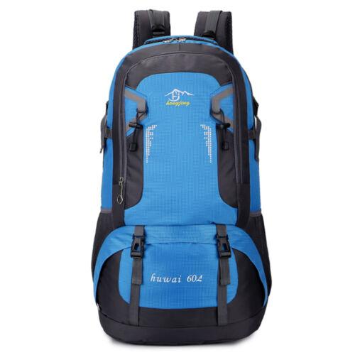 60L Large Men Women Camping Backpack Outdoor Sport Hiking Travel Rucksack Bag US