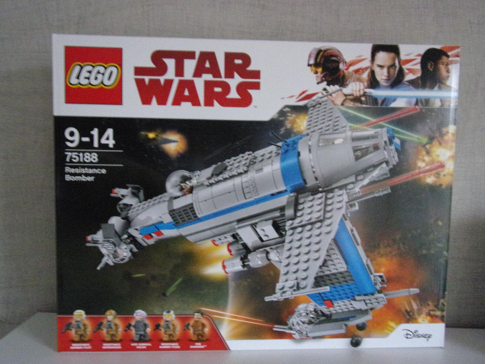 Lego Star Wars 75188 Resistance Bomber - NEU & OVP