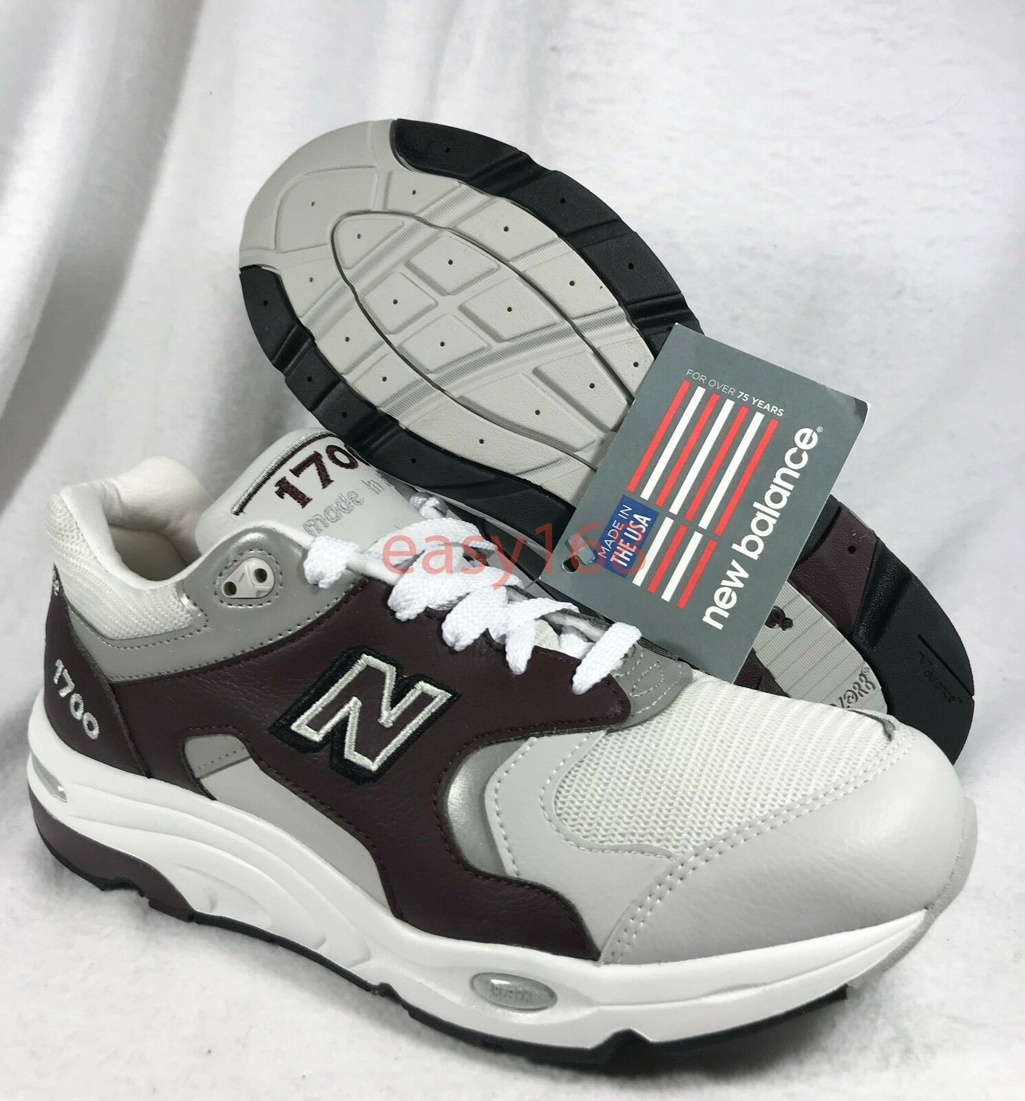 New 11.5 New Balance 1700 Sz 11.5 New Mens 45.5 M1700CHT NB Classic USA Blue Leather 509983