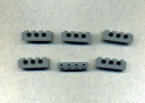 Lego--3701-- Lochstein 3 Loch Grau/DKStone 6 Stück 1 x 4
