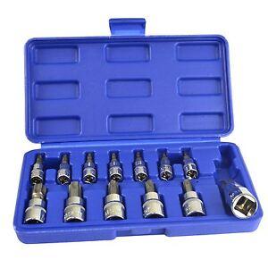 Puntas-Torx-a-prueba-de-manipulaciones-Socket-Set-1-4-3-8-y-1-2-034-T8-a-T70