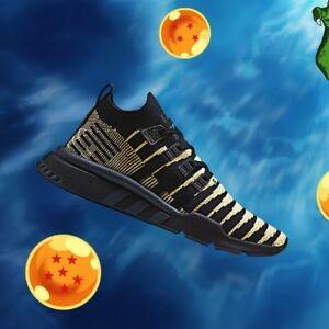 Estoy orgulloso Aplicable pasatiempo  Adidas x Dragon Ball Z EQT Support Mid ADV PK Sizes 8, 8.5, 9 Shenron Black  Gold | eBay