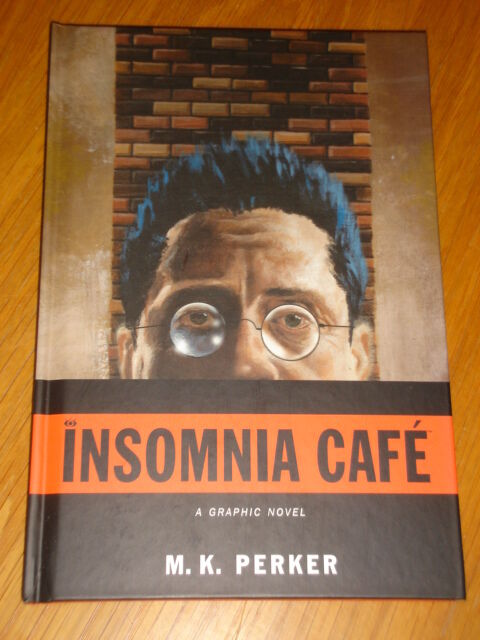 INSOMNIA CAFE M K PERKER DARK HORSE ORIGINALS HB GRAPHIC NOVEL 9781595823571