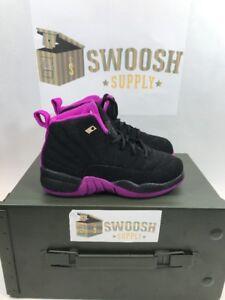 4b0bfede10e2c5 Nike Jordan Retro 12 XII GP Kings Black Violet 510816-018 SZ 10.5C ...