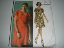 Size 14-22 6494 Vest and Pull-On Pants Butterick Patterns B6494 E5 Misses Knit Raglan Sleeve Tops and Dress