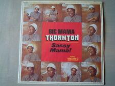 Big Mama Thornton - SASSY MAMA! (Lp) Press France 1975 Cover Laminated