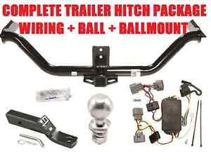 trailer hitch kit for 2006 2014 honda ridgeline w wiring harness rh ebay com honda ridgeline trailer wiring harness installation 2006 honda ridgeline trailer wiring harness