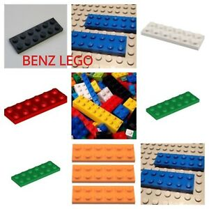 Missing Lego Brick 3795 Black x 8 Plate 2 x 6