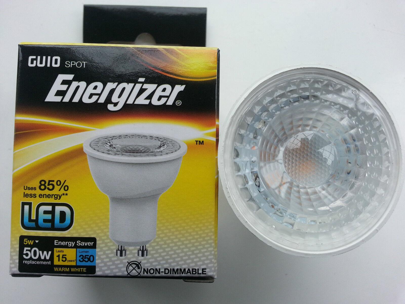 24 24 24 x Energizer LED GU10 5 W = 50 W Lampadine bianco caldo.  a  Non Dimmerabile Risparmio Energetico f3f5af