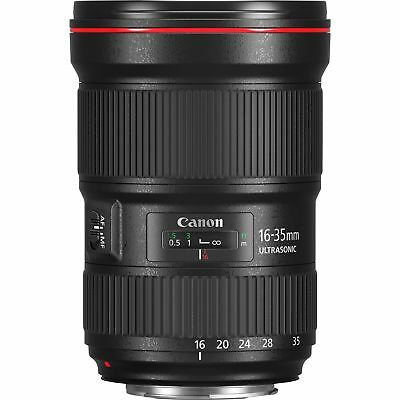 Canon EF Camera Ultra Wide Angle Zoom Lens 16-35mm f/2.8 L III USM 0573C005