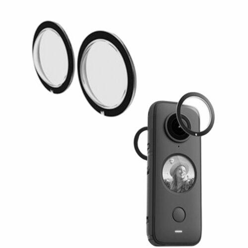 Protector de lente panorámica Reutilizables Lente A Prueba De Salpicaduras Protector Para Insta 360 ONE X2